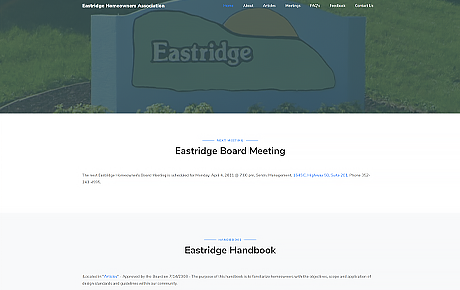 Eastridge H.O.A.