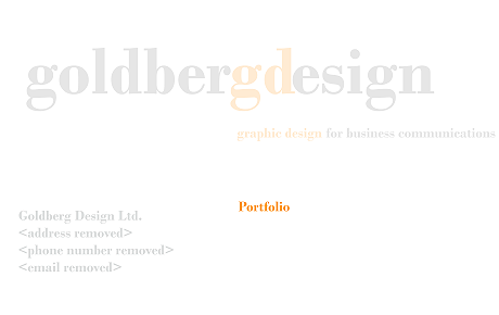 Goldberg Design Ltd.
